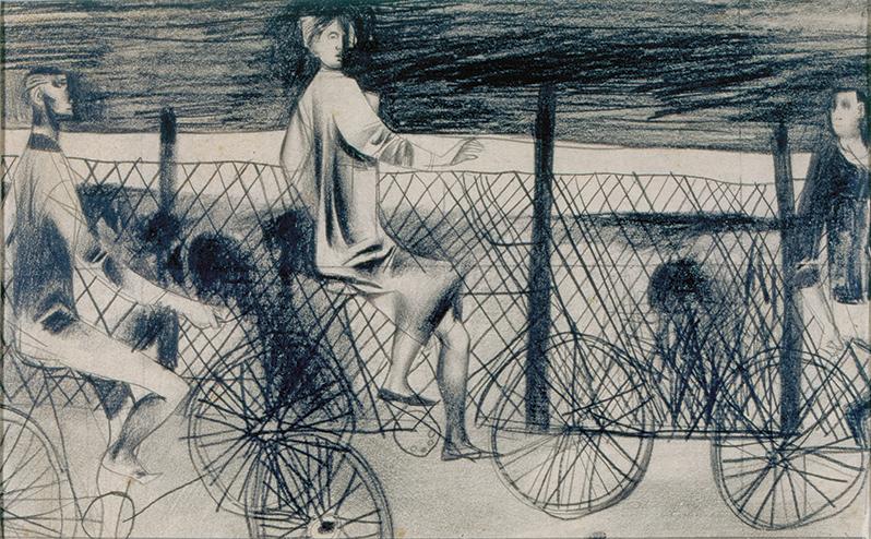 Gaál Imre: Biciklizők