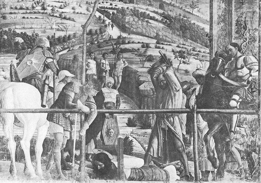 Mantegna: Szent Jakab kivégzése