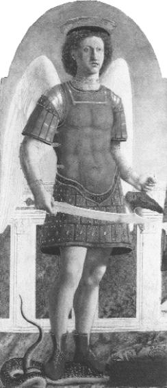Piero della Francesca: Szent Mihály arkangyal
