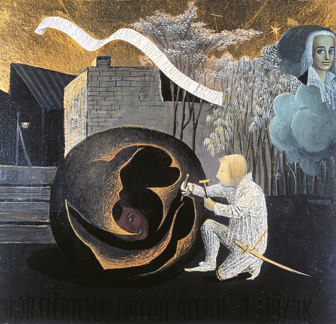 Rátkay Endre: Ördöggolyó (részlet az Aranyikonból)